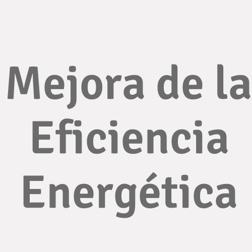Mejora De La Eficiencia Energética