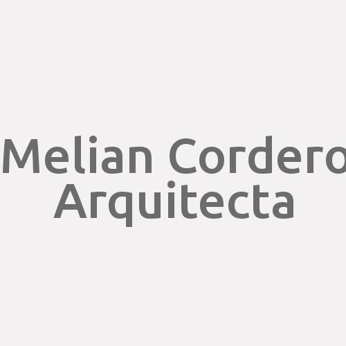 Melian Cordero Arquitecta
