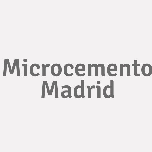 Microcemento Madrid