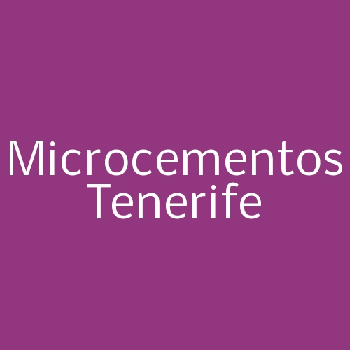 Microcementos Tenerife