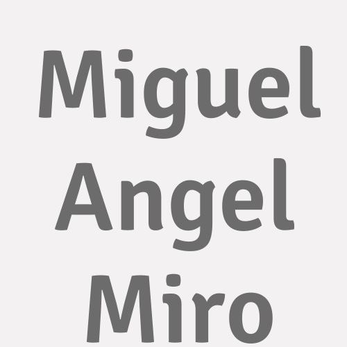 Miguel Angel Miro