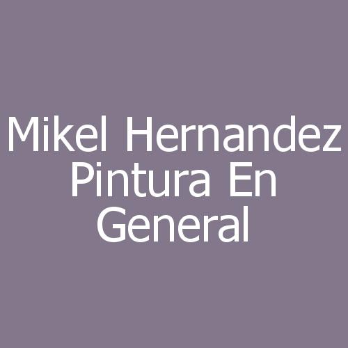 Mikel Hernandez Pintura en general