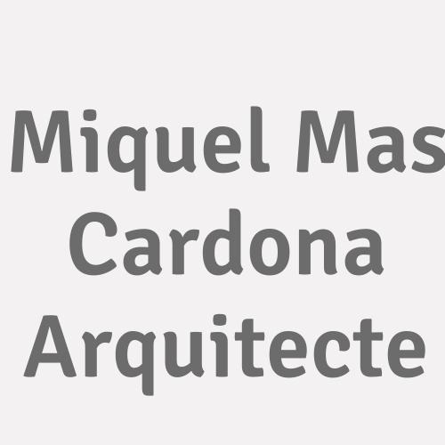 Miquel Mas Cardona Arquitecte