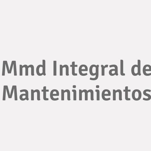 Mmd Integral De Mantenimientos