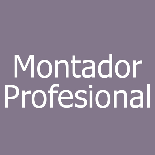 Montador Profesional