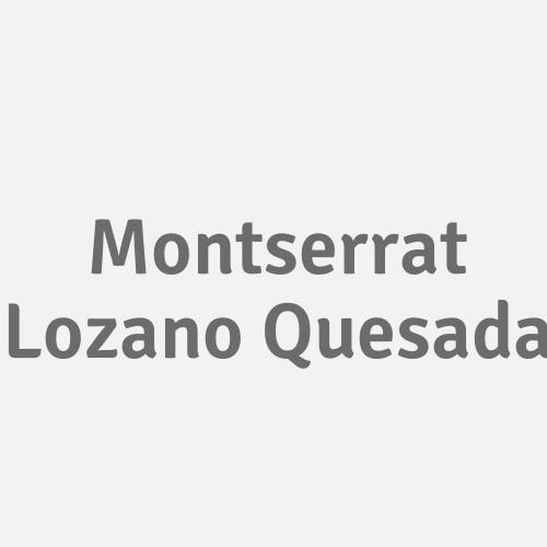 Montserrat Lozano Quesada