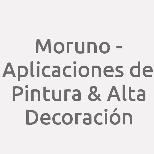 Moruno - Aplicaciones de Pintura & Alta Decoración