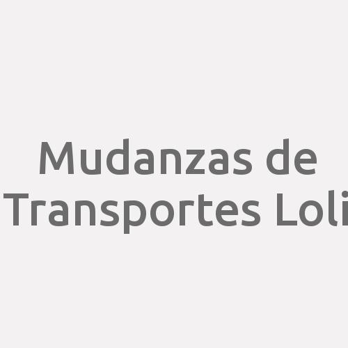 Mudanzas de Transportes Loli