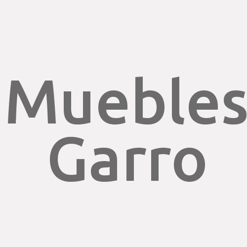 Muebles Garro