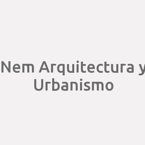 Nem Arquitectura Y Urbanismo.