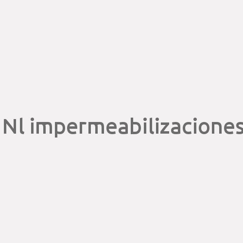 Nl Impermeabilizaciones