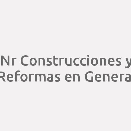 Nr Construcciones Y Reformas En General
