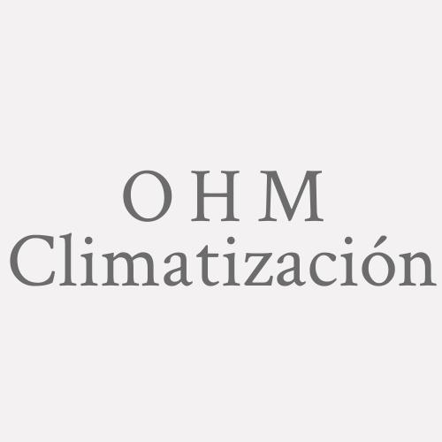 O H M Climatización