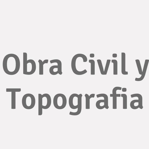 Obra Civil Y Topografia
