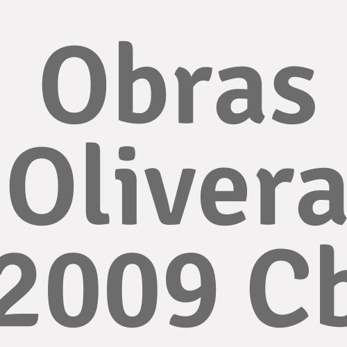 Obras Olivera 2009 C.B.
