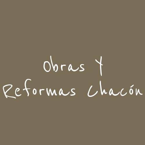 Obras y reformas Chacón