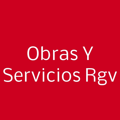 Obras y Servicios RGV
