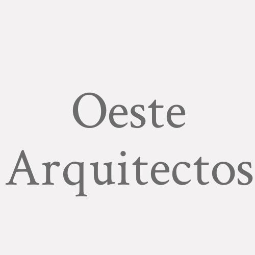 Oeste. Arquitectos