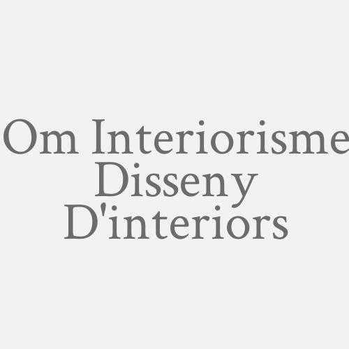 Om Interiorisme Disseny D'interiors