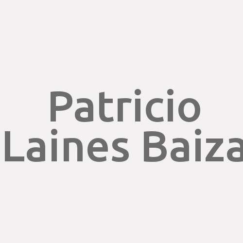Patricio Laines Baiza