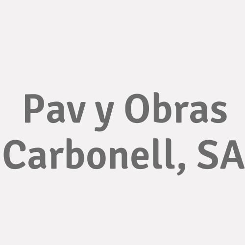 Pav y Obras Carbonell, SA