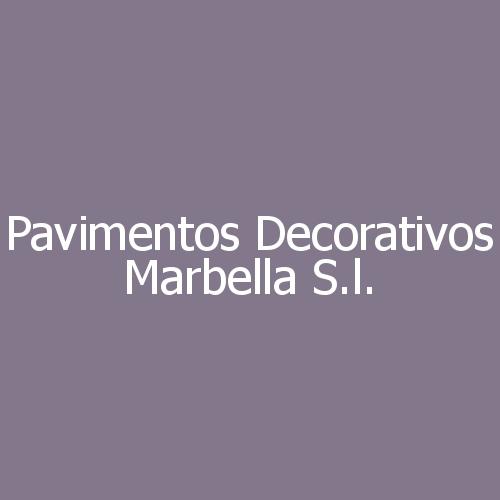 Pavimentos decorativos Marbella S.L.