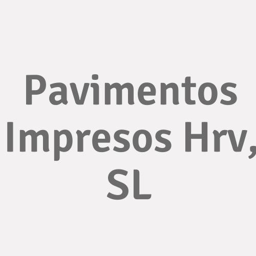 Pavimentos Impresos Hrv, SL