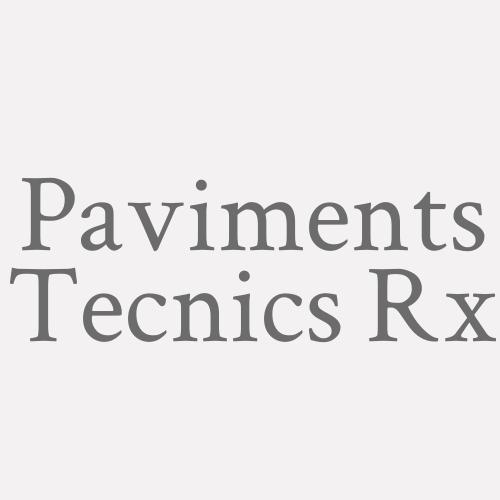 Paviments Tecnics Rx