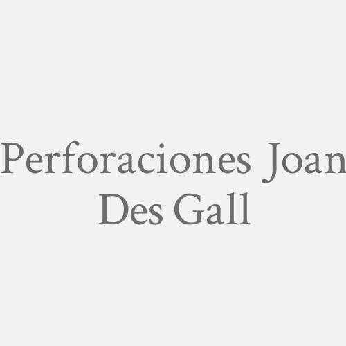 Perforaciones Joan Des Gall