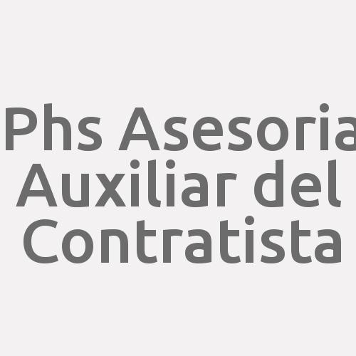 Phs Asesoria Auxiliar del Contratista