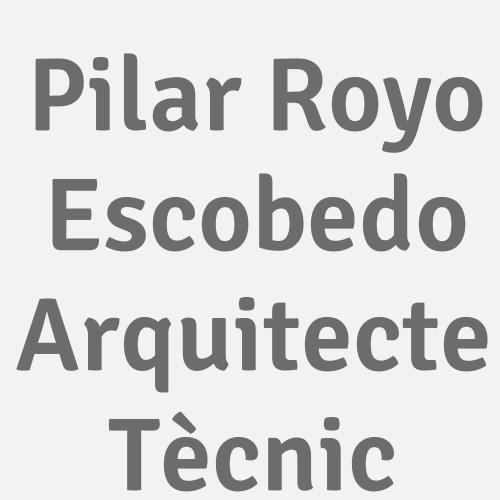 Pilar Royo Escobedo Arquitecte Tècnic