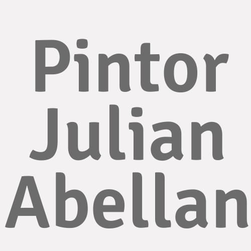 Pintor Julian Abellan