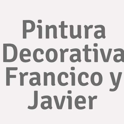 Pintura Decorativa Francico Y Javier