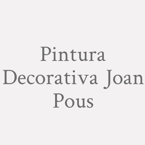 Pintura Decorativa Joan Pous