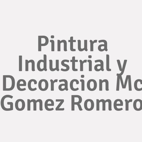 Pintura Industrial y Decoracion Mc Gomez Romero