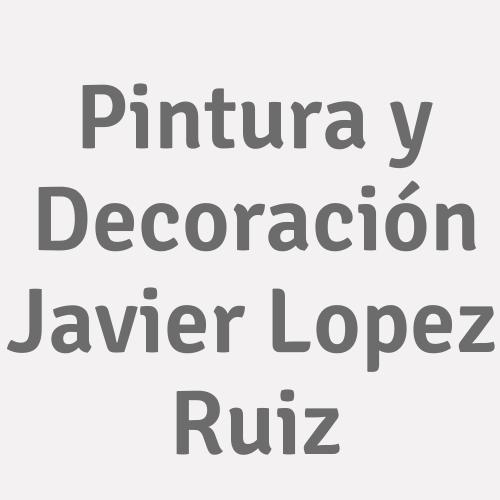 Pintura Y Decoración Javier Lopez Ruiz