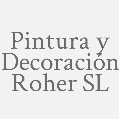 Pintura y Decoración Roher SL