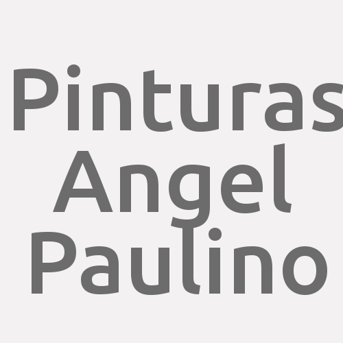 Pinturas Angel Paulino