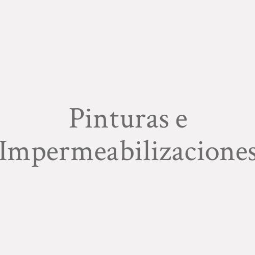Pinturas E Impermeabilizaciones