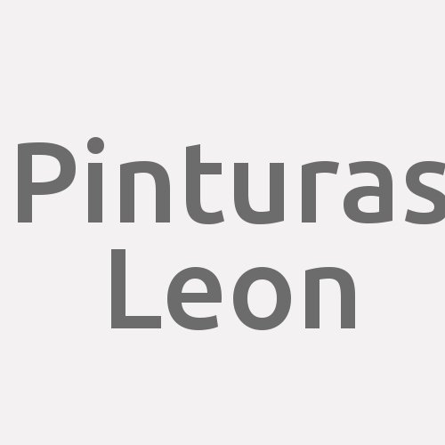 Pinturas Leon
