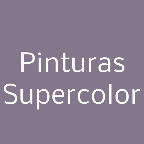 Pinturas Supercolor