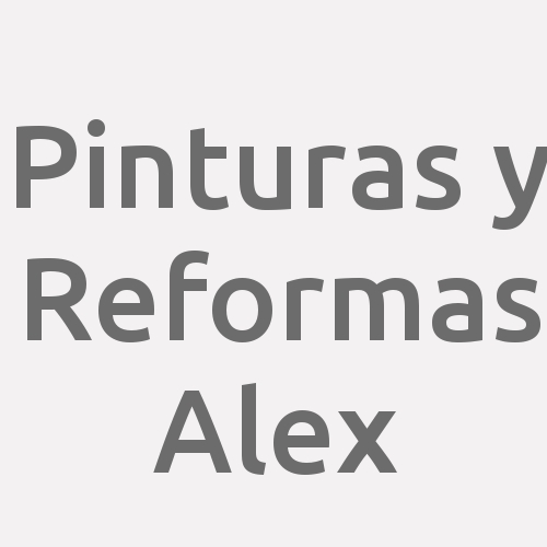 Pinturas y Reformas Alex
