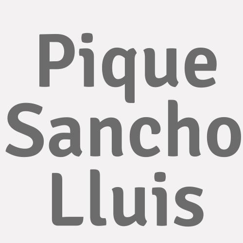Pique Sancho Lluis