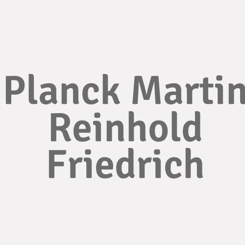 Planck  Martin Reinhold Friedrich
