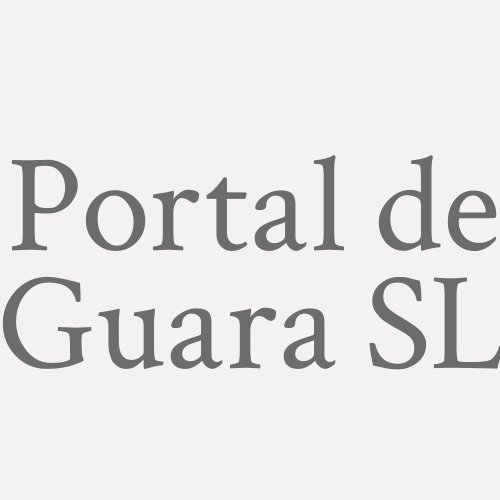 Portal De Guara S.L.