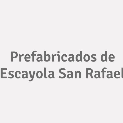 Prefabricados de Escayola San Rafael
