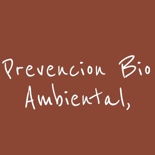 Prevencion Bio Ambiental,