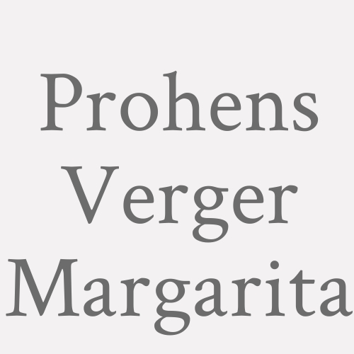 Prohens Verger Margarita