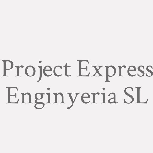 Project Express Enginyeria Sl