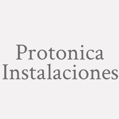 Protonica Instalaciones